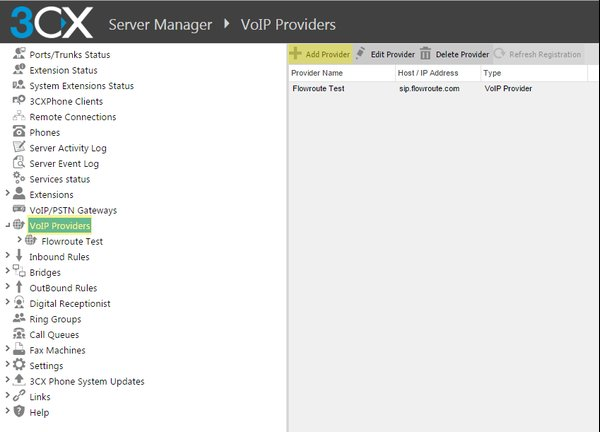 Configuration Guide: Adding a VoIP Provider with 3CX