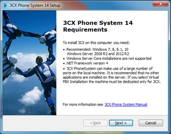 How to install 3CX Phone System - Support   888VoIP