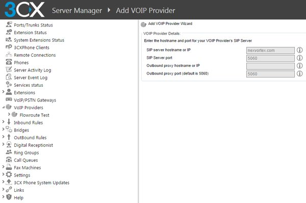 Configuration Guide: Adding a VoIP Provider with 3CX - Support | 888VoIP