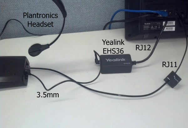 Installation Guide: Yealink EHS36 with Plantronics Headset